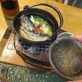 備前焼と燗銅壺