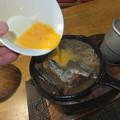 サンマ缶詰の玉子とじ