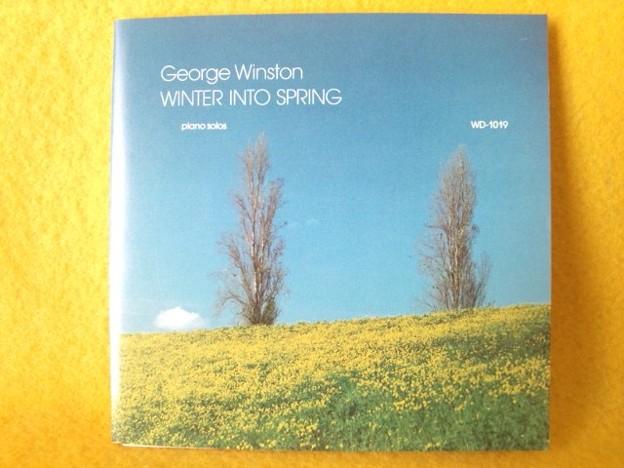 ジョージ ウィンストン  CD ウィンター イントゥ スプリング CD