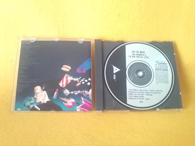 写真: ON THE MOVE   深町純 ザ ニューヨーク オールスターズ CD