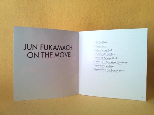 ON THE MOVE   深町純 CD フュージョン