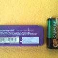 写真: 現品のみ 東京スカイツリー 金属 紫色 フリスク ケース