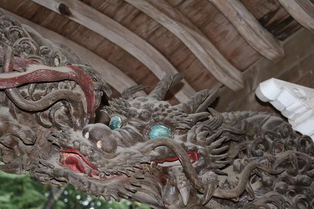 遠州袋井の名工「鈴木八郎」作 昇り竜