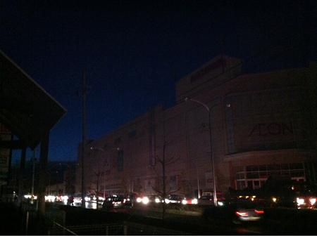 停電中の幸町