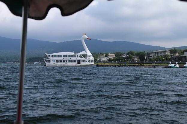 遊覧船_山中湖 D4981