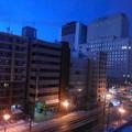 ビル街の夜明け1
