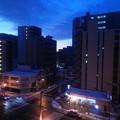 ビル街の夜明け2