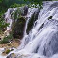 写真: 九寨溝の滝