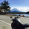 Photos: 精進湖にて