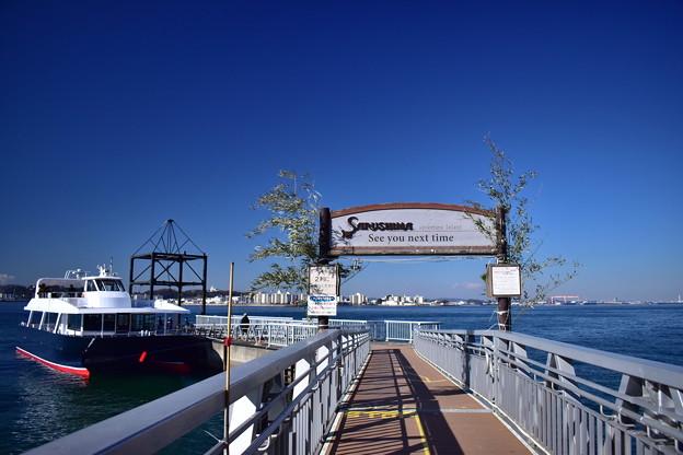 猿島桟橋2
