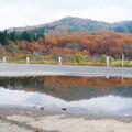恩原湖の秋