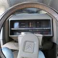 シトロエンBXの運転席