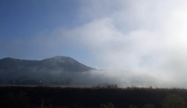 朝霧のみかも山