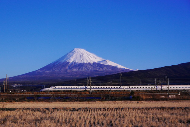 2.1の富士山N700系