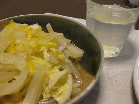 白菜の柚香煮
