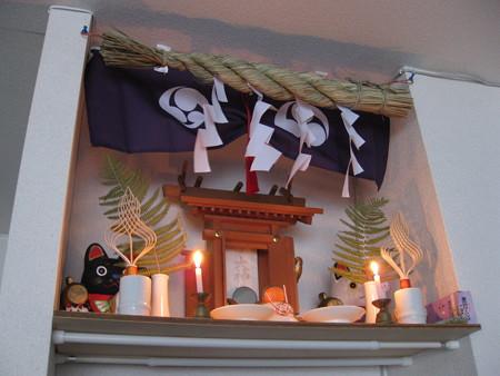 我が家の猫神棚