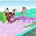 写真: 寒川蛇神社.