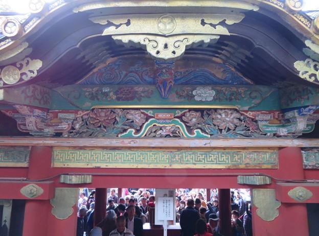 日光東照宮(栃木県)陽明門廻廊・雀