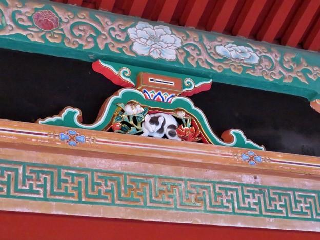 日光東照宮(栃木県)陽明門廻廊・眠り猫