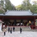 写真: 日光二荒山神社(栃木県)拝殿