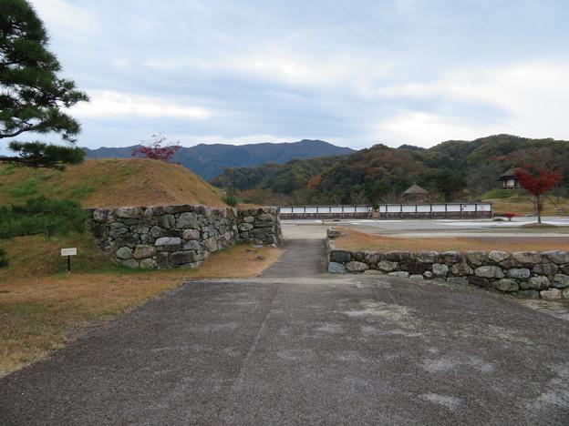 小幡陣屋・楽山園(甘楽町小幡)北門虎口