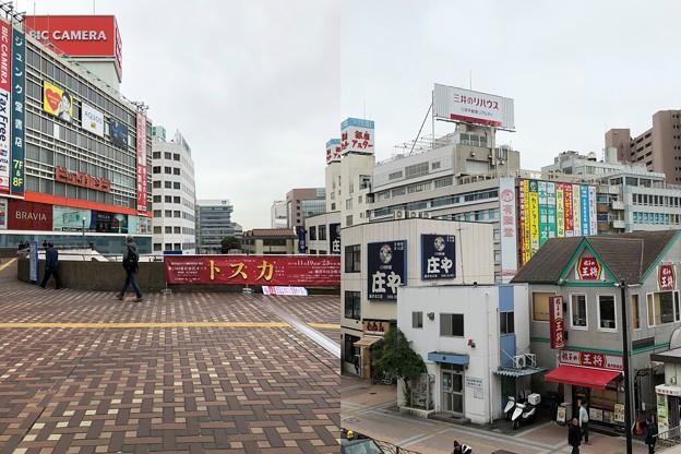藤沢駅ペデストリアンデッキ(神奈川県藤沢市)