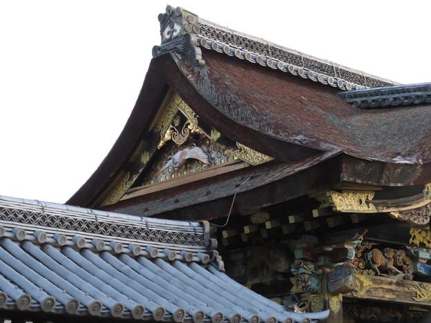 西本願寺唐門(下京区)伝 木幡山伏見城移築門