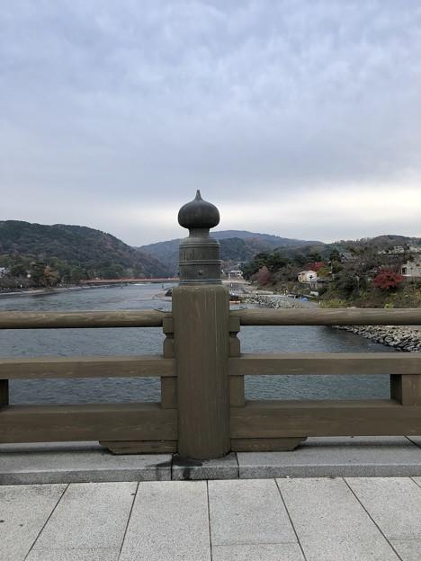 Photos: 宇治川(宇治市)宇治橋なかば