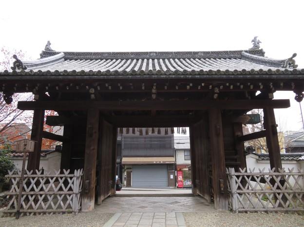 御香宮神社表門(伏見区)伝 木幡山伏見城移築大手門