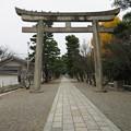 御香宮神社(伏見区)石鳥居