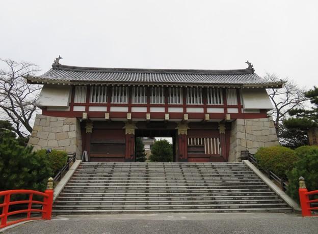 木幡山伏見城(伏見区)御花畑山荘?/模擬大手門