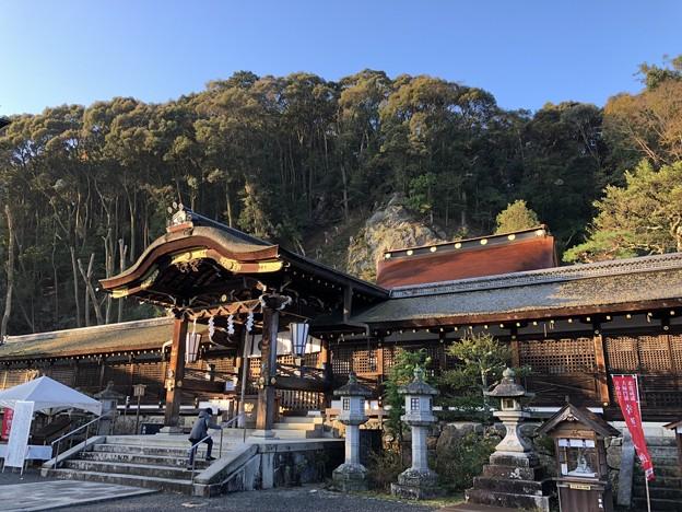 松尾大社(西京区)中門・本殿