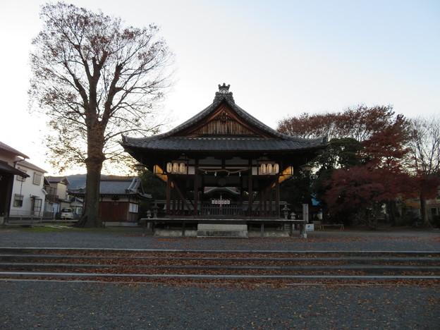 篠津神社(大津市)拝殿