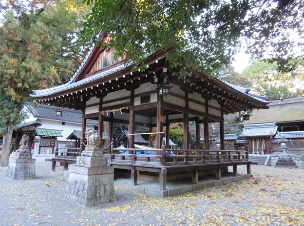 鞭嵜八幡宮(草津市)拝殿