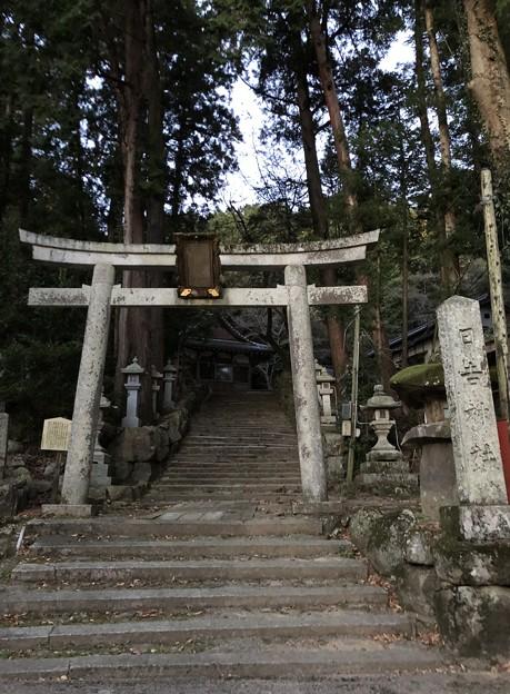 観音寺城御屋形(六角氏館。近江八幡市)日吉神社