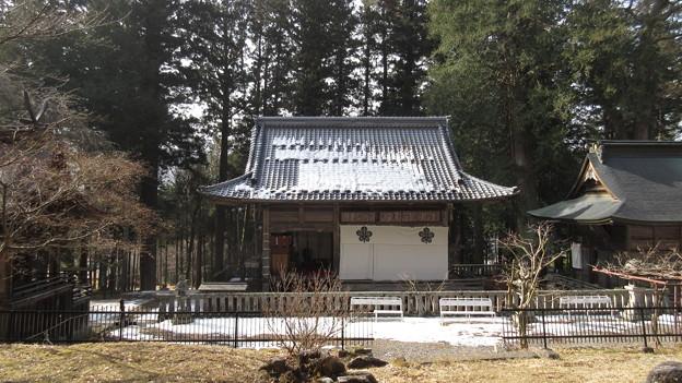 15.02.24.新海三社神社 神楽殿(佐久市)