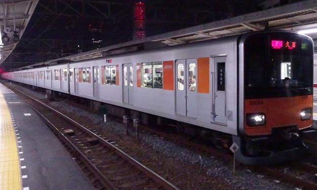東武スカイツリーライン50050系(壇蜜氏誕生日の曳舟駅にて)