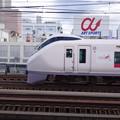 Photos: 常磐線特急 ときわ 目の前を通過