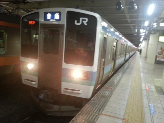 中央本線211系 甲府行き