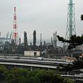 Photos: 松風閣から見える工業地帯