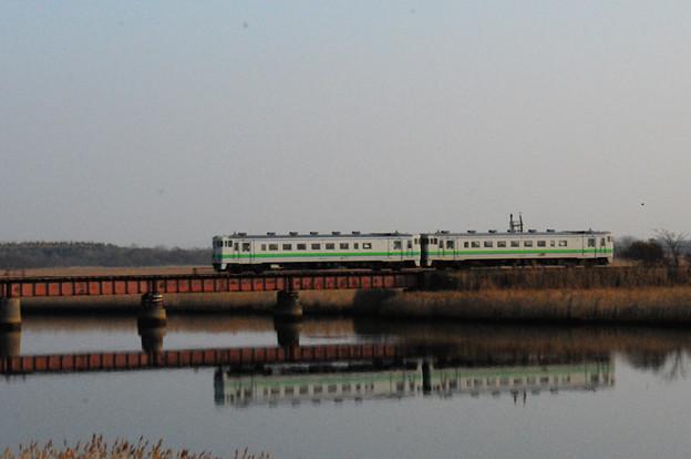 勇払川の鉄橋