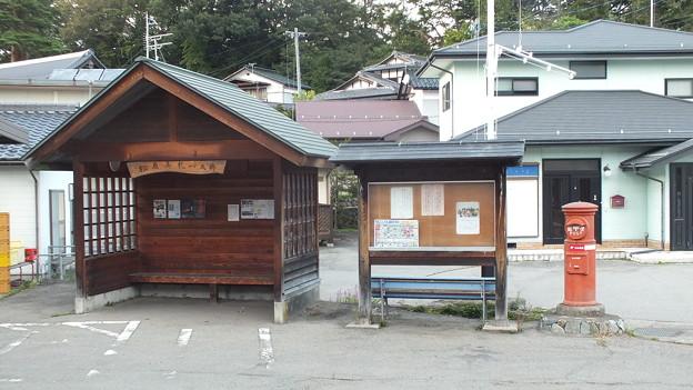 長野県小海町 松原湖近く丸ポスト2