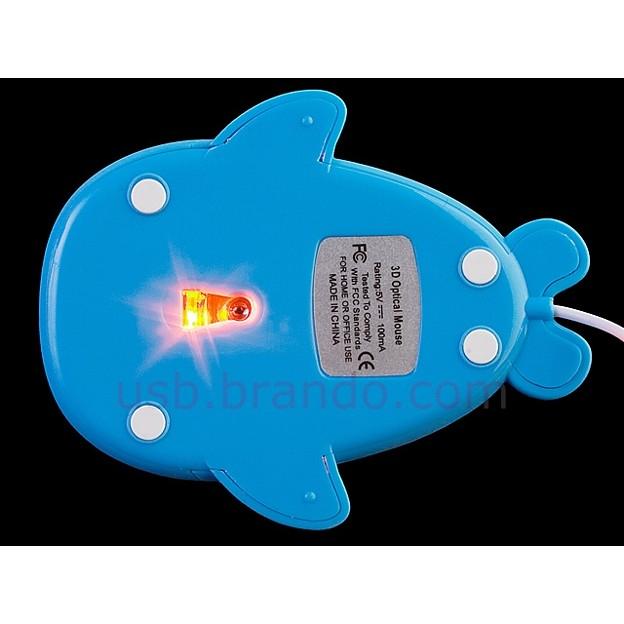 写真: クジラ型USBマウス5