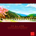 ★京都府 嵐山 渡月橋 春★