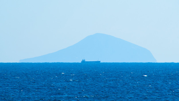 写真: 伊豆の島々