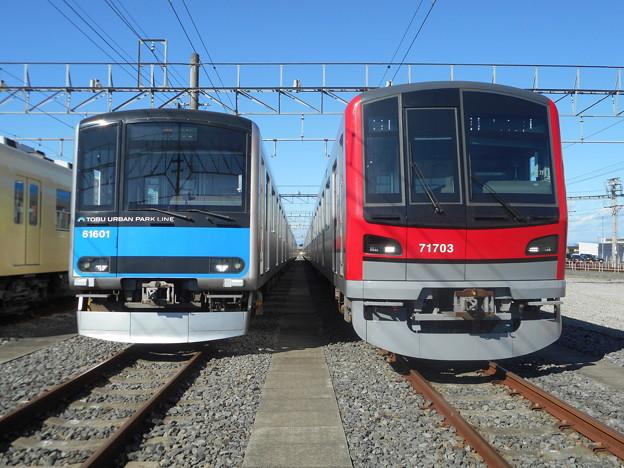 東武鉄道61601F・71703F 2017-11-19