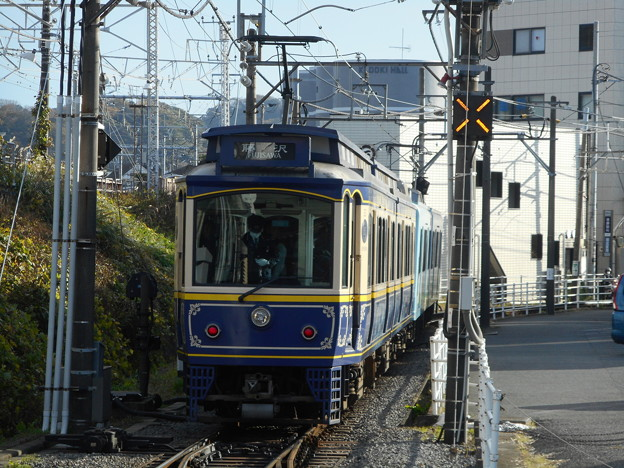 江ノ島電鉄デハ50(2003F+10F) 2017-11-26