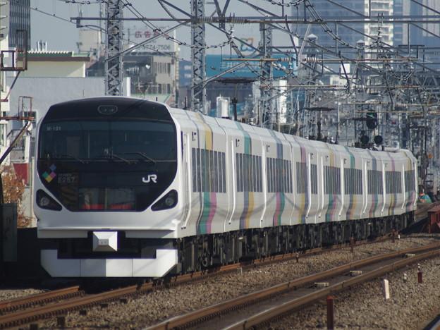 E257系 長モトM101F 2017-12-3