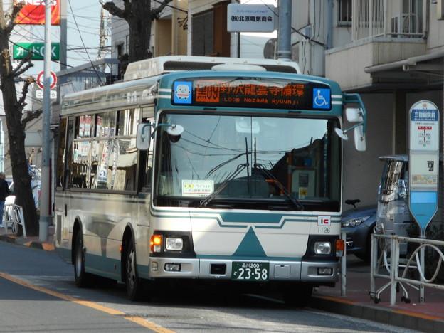 東急バス SI1126 2018-1-20