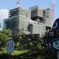 写真: 清正くんと熊本城